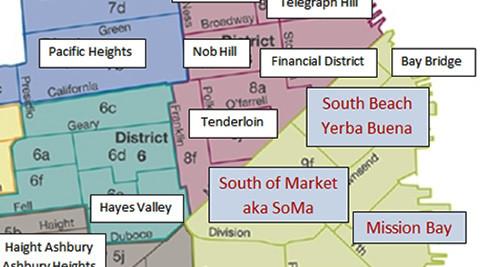 Soma South Beach Yerba Buena Mission Bay
